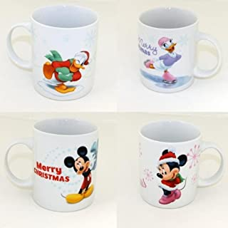 Unbekannt Enesco Enchanting Disney – Navidad Mickey Mouse y Minnie Mouse Pato Donald Daisy Taza,