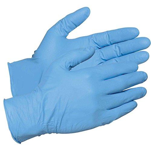 Naturelle Microsafe morbido blu monouso in nitrile senza polvere-misura piccola (grado medicale, AQL 1.5, latex free)