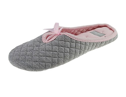 BXT Ms. pistoni del cotone coperto pantofole a casa skid cotone pantofole peluche casa scarpe grigio-Europa 38/39