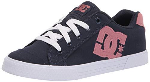 DC womens Chelsea Skate Shoe, Blue/Pink, 5 US