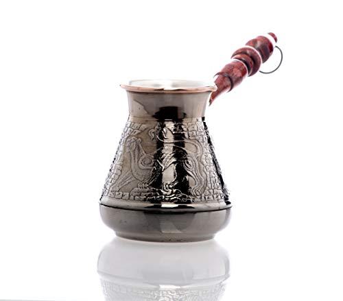 Cezve, Ibrik, Hochwertiger Coffee Pot, 400 ml, handgemacht, Coffee Maker