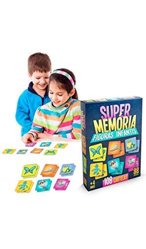 Super Memória Figuras Infantis Grow