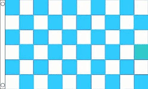 Hemel Blauw en Wit Vlag 5ft x 3ft