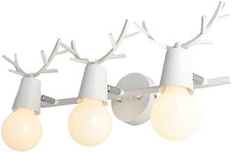 JIY Mirror Headlight Led Creative Antlers Muur licht badkamer Mirror Cabinet Light Dressing Table Dressing Light Mirror Li...