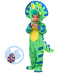2. Spooktacular Creations Baby Triceratops Dinosaur Costume Set