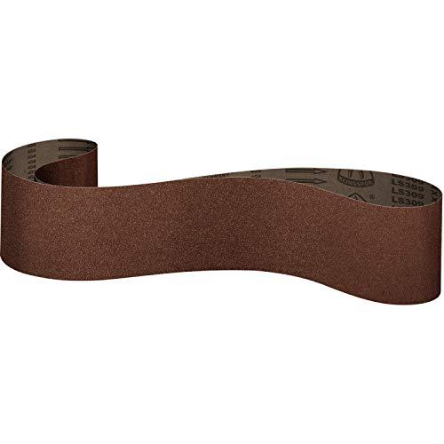 Klingspor Schleifband/Gewebe Schleifbänder LS 309 X | 100x860 mm | 10 Stück | Körnung: 100 (10 Bänder)