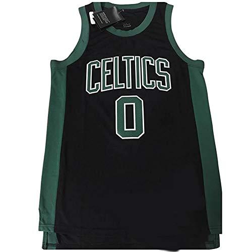 Basketball Trikot - Boston Celtics 0# Besticktes Netz Basketball Swingman Trikot (GRÖSSE: S-XXL)