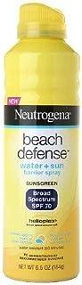 【海外直送品】 ニュートロジーナ 皮膚科推薦 日焼け止めスプレー SPF70 184g  Neutrogena Beach Defense Broad Spectrum Sunscreen Spray, SPF 70, 6.5 oz