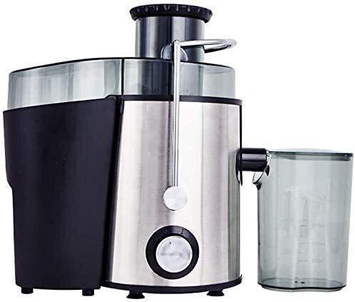 Fulinmen Extractor de Jugo de hogar Multifuncional Extractor de Gran Volumen Separador de Jugo No se Requiere Mezclador de Alimentos