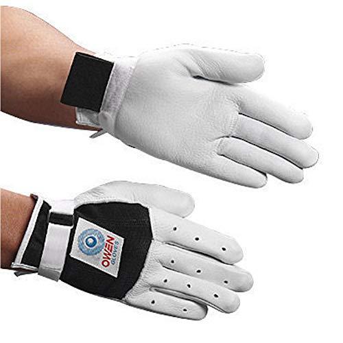 Owen Handball Gloves White/Black (Size S, M, L or XL) (M) [Apparel]