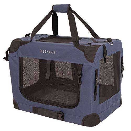 Petsfit 36 Inch Portable Folding Soft Dog Crate for Outdoor and Travel Crate Kennel