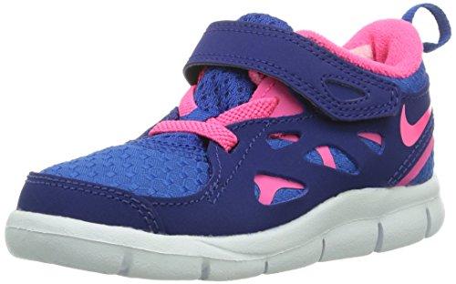 Nike Free Run 2TDV, Low-Top Unisex Children Blue Size: 6 Child UK