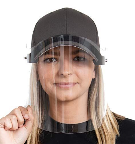 Prime Manufacturers HatShield Flip Baseball Cap Face Shield