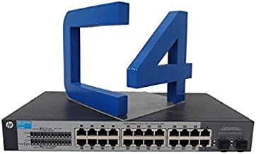 HP ProCurve 1410-24G Gigabit Ethernet Switch - 24 Ports - 24 x RJ-45 - 2 x Expansion Slots - 10/100/1000Base-T - J9561A#ABA