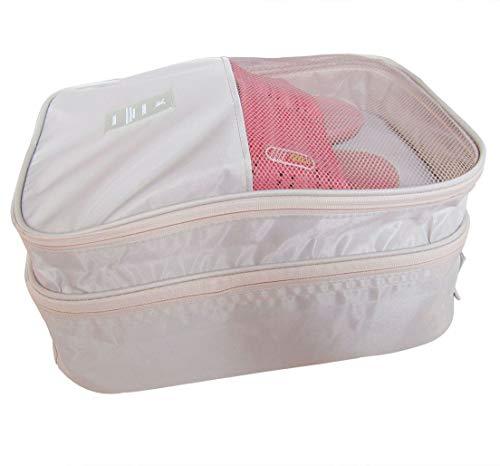 Bellcon 3 in 1 Reise-Schuhtasche für Damen und Herren, wasserdichte Schuhaufbewahrung und Organisation, tragbare große Schuhverpackung