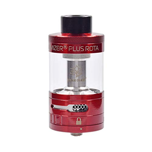 Steam Crave Aromamizer Plus RDTA Clearomizer Set Farbe rot