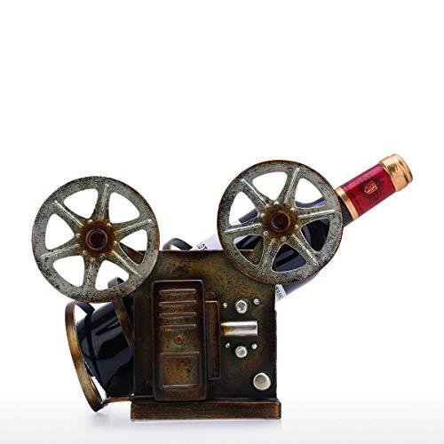 Vino Bastidores retro proyector de vino sostenedor del estan