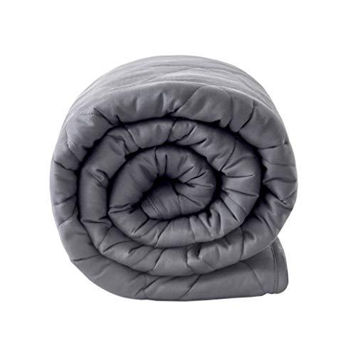Gewichtsdecke 152x203CM,7.2KG,Schwere Decke Anti Stress, Beschwerte Decke, Therapiedecke für Erwachsene und Kinder (Diamant)