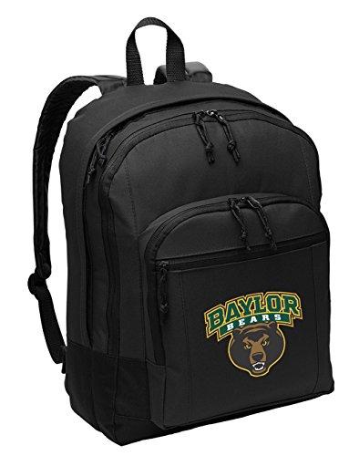 Baylor University Backpack CLASSIC STYLE BU Bears Backpack Laptop Sleeve