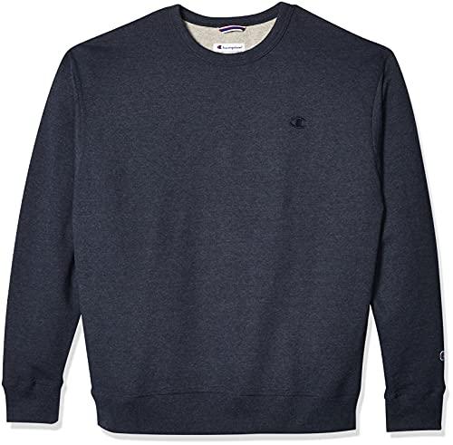 Champion Powerblend Sweat-Shirt pour Homme - Bleu - Medium