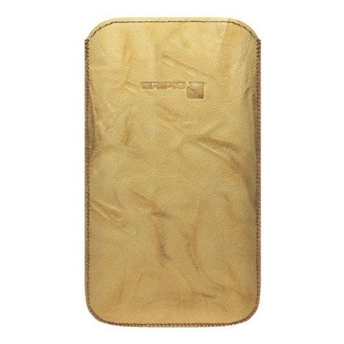 Gripis Slip Cover Case Ledertasche Creased Braun für Size 10