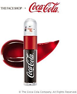 The Face Shop x Coca-Cola COKE BEAR Lip Tint 01 RED LABEL Collectible Miniature Snowball on Top