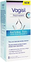 Vagisil ProHydrate Natural Feel Vaginal Moisturizing Gel, 8 Applications Per Box (5 Boxes)