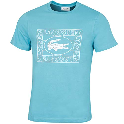 Lacoste Mens TH5097 T Shirt Cicer Size 6 XL