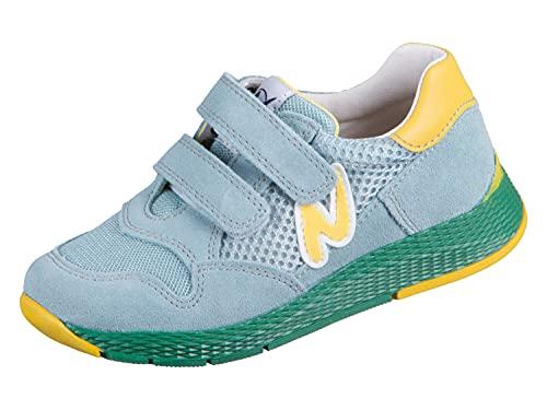 Naturino Sammy Vl. Zapatillas de gimnasia para niña, color Verde, talla 25 EU