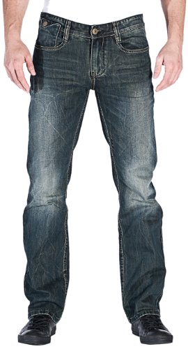 M.O.D Herren Joshua 1008-1 Jeans, Blau (Algiers Blue), W30 / L30