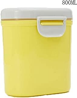 Egosy Milchpulver-Spender Portable Milchpulver-Vorratsbeh/älter mit Gleichmacher 600ML