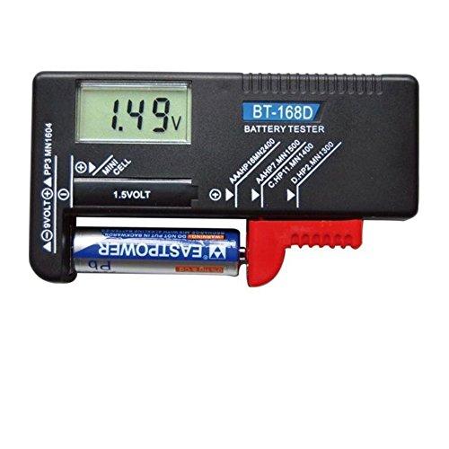 デジタルバッテリー テスター 電池チェッカー 電池の残量チェック 乾電池残量測定器