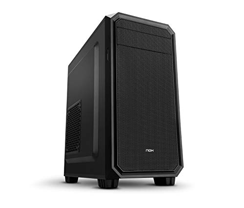 Nox Coolbay MX2 - NXCBAYMX2 - Caja PC, Mini Torre, Color Negro