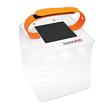 LuminAID PackLite Hero 2-in-1 Supercharger | Portable Solar Phone Charger & Lantern
