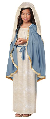 Girls Virgin Mary Costume Small (6-8)