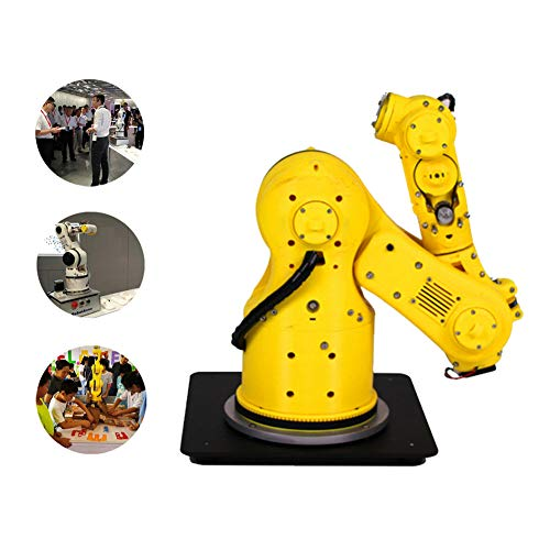 MYLW 6-axis Robot Arm robot arm building kit Icecream Robot Arm Multi-function Humanoid Bionic High Precision Mechanical Programmable for Robotic Education STEM Educational Toys