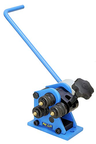 Pro-Lift-Werkzeuge Rohrbiegemaschine manuell Universal-Biegemaschine Rundbiegemaschine Handrohrbieger Ringe Rollenbiegemaschine