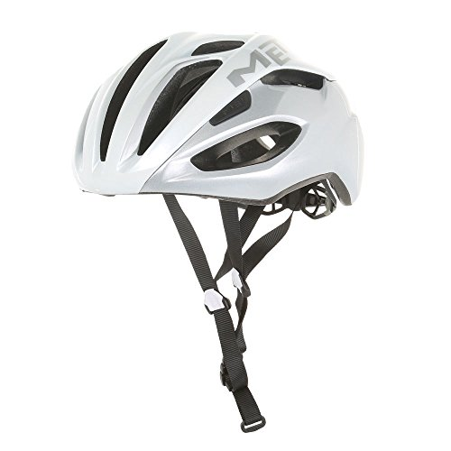 MET Rivale Helmet white/silver Kopfumfang 59-62cm 2017 mountainbike helm downhill