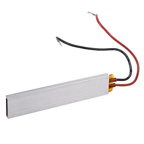 FTVOGUE PTC Heating Element Constant Temperature Thermostat Heater Plate 110V 140W(110V 140W 220℃)