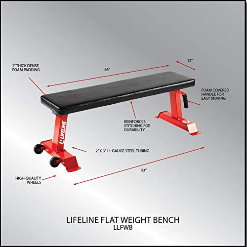 Lifeline Flat Weight Bench