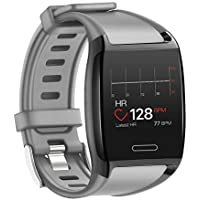 HalfSun Activity Tracker Fitness Watch with Heart Rate Monitor (Gray)