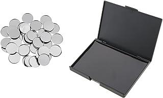 Beauty Cosmetics Lege DIY Oogschaduw Magnetische Palet Case Organizer Make-Up Box + 50 Ronde Metalen Oogschaduw Pannen Hou...