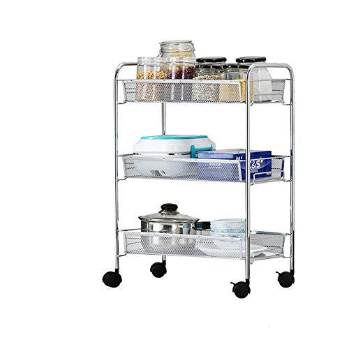 carrito verdulero,carrito frutero,carrito auxiliar cocina,Hecho de material ABS ecológico + espacio de...