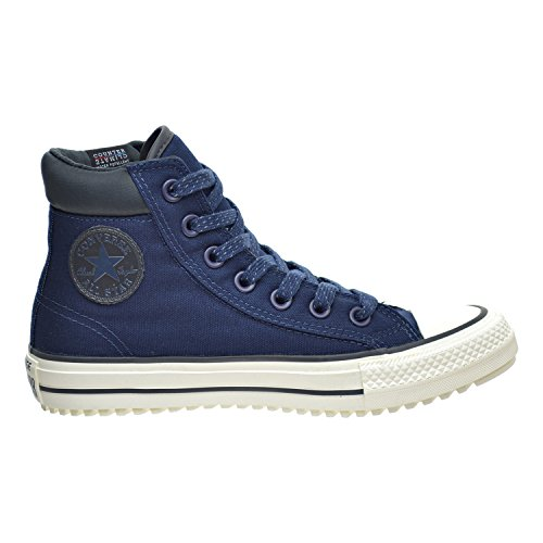 Converse Mens Chuck Taylor All Star Boot PC Hi Fashion Sneaker Boot Shoe, Obsidian/Almost Black, 5