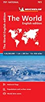 Michelin The World / Michelin Le Monde: English Edition / Edition Anglaise (Michelin National Maps)