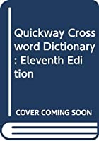 Quickway Crossword Dictionary: 2eleventh Edition 0670814369 Book Cover