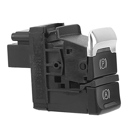 Surebuy Interruptor de Control de Freno de estacionamiento, Interruptor de Freno de estacionamiento estándar Original de fábrica para A4 / S4 Avant 2008-2015