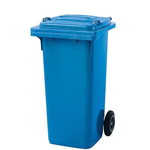 Preisvergleich Produktbild Müllbehälter,  Inhalt 120 Liter,  blau
