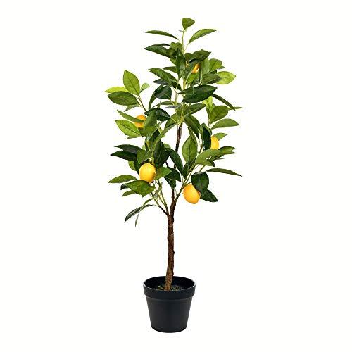 Vickerman Lemon Everyday Potted Tree, 28', Green