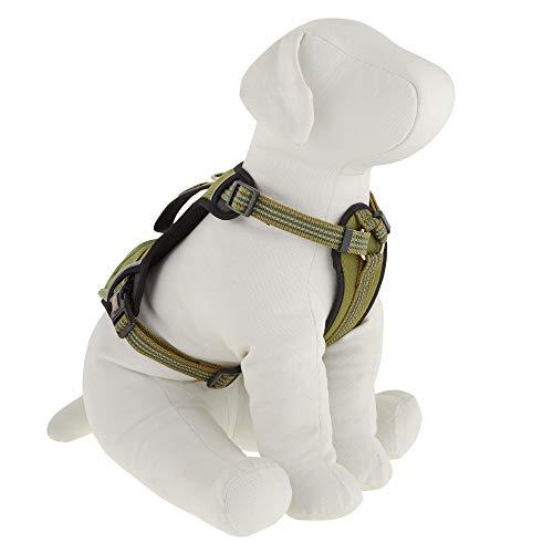 Dog Harness Kong Reflective Pocket Medium Green